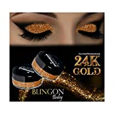 GlitterWarehouse Glitter Eyeshadow / Eye Shadow Shimmer Makeup Powder 24K Gold