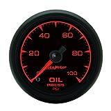 Auto Meter 5953 ES 2-1/16'' 0-100 PSI Full Sweep Electric Oil Pressure Gauge