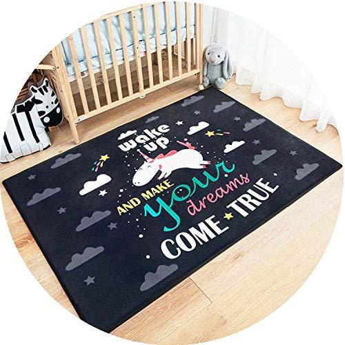 Margot-Charismatic-Shop Baby Play Mats - Alfombra Grande de Gamuza para niños, diseño de Dibujos Animados, Moderno, 2,...