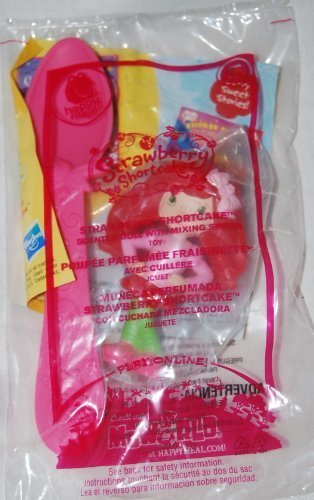 McDonalds 2010 Strawberry Shortcake Scented Doll and Mixing Spoon #5