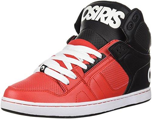 Osiris NYC83 CLK' White/Black/Silver. Red/Black/White TmPAU4