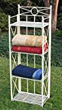 Iron Folding 4-Tier Indoor/Outdoor Bakers Rack