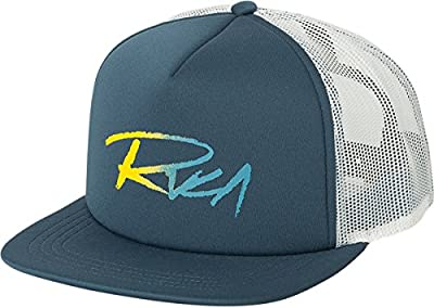 RVCA Men's Skratch Gradient Foamy Trucker Hat by RVCA