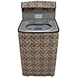 Stylista Washing Machine Cover for LG 6.2 kg T7281NDDLG Fully Automatic Top Load, Trellis Printed Pattern