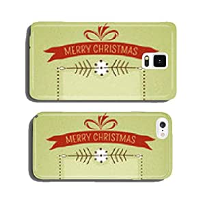 Christmas Frame Card Green cell phone cover case iPhone5