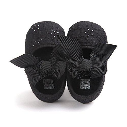 Pas Chaussures Baptême Fille,blanc Bébé Noir Chaussure Premier De Estamico wEI4aqn