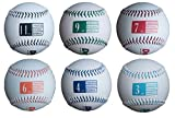 Driveline Leather Weighted Baseballs - Set of 6