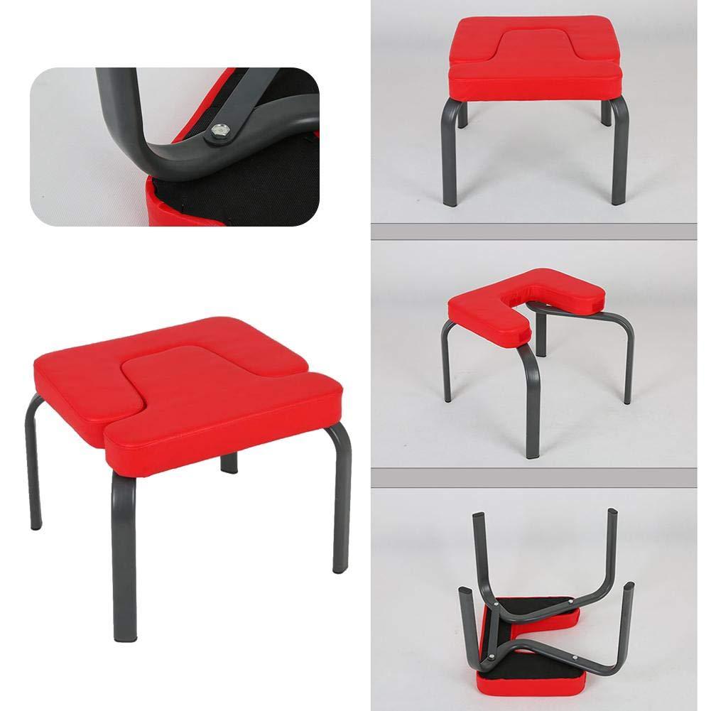 Banc dappui-t/ête de Yoga Chaise dentra/înement daides de Yoga Chaise dentra/înement Tabouret de Sport dexercice dappui-t/ête /équipement de Conditionnement Physique de Banc