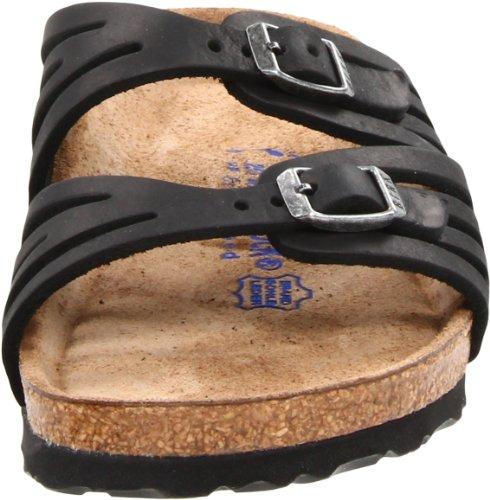 Birkenstock Women's Granada Soft Footbed Sandal,Black Oiled Leather,39 N EU by Birkenstock (Image #4)