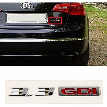 Kia Cadenza K7 OEM GENUINE Parts Rear Trunk 3.3 GDI Logo Emblem Badge 863123R200