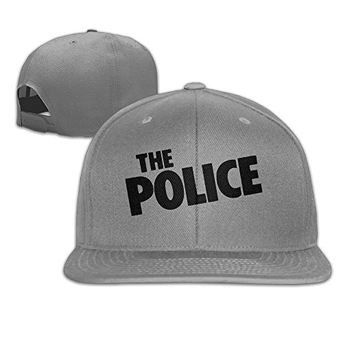 - Ogbcom The Police Logo Snapback Adjustable Flat Baseball Cap/Hat