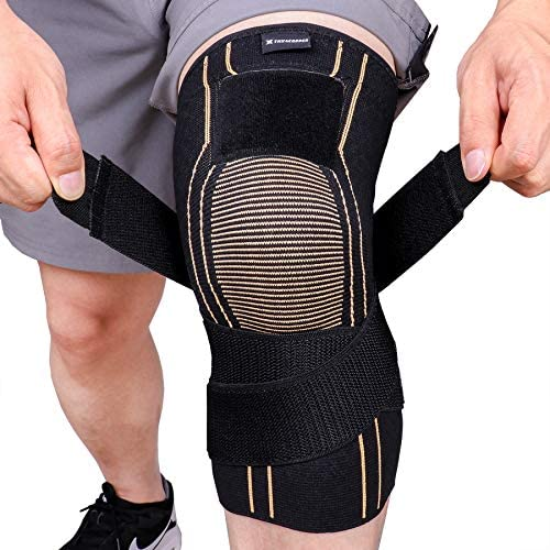 Compression Adjustable Basketball Weightlifting Sleeve Single product image