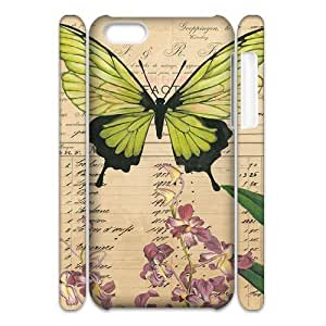 LJF phone case C-Y-F- Fashion Butterfly 1 Phone 3D Case For ipod touch 5 [Pattern-1]