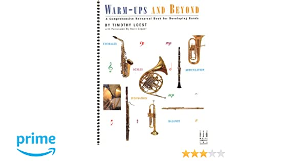 BB203CL  WarmUps and Beyond  Clarinet
