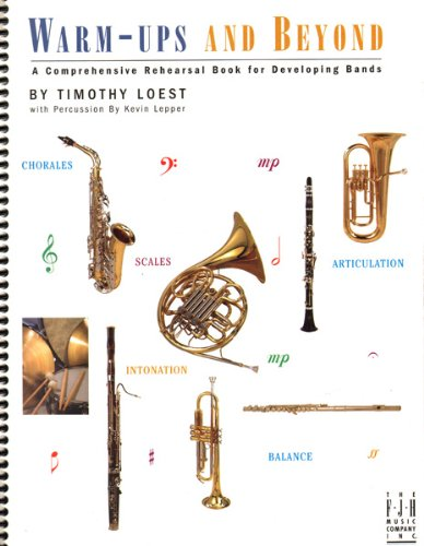 - Warm-ups and Beyond, B-flat Bass Clarinet Book