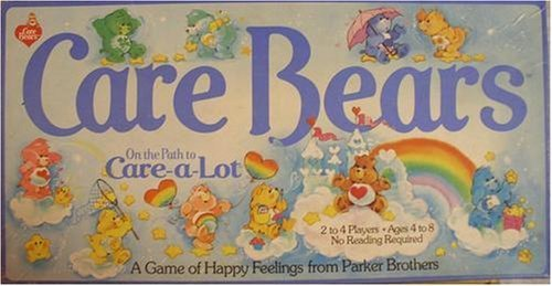 Care Bears on the Path to Care-A-Lot Board Game