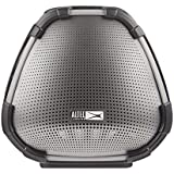 Altec Lansing VersA Smart Portable Bluetooth Speaker with Amazon Alexa Voice Assistant, Black and Silver