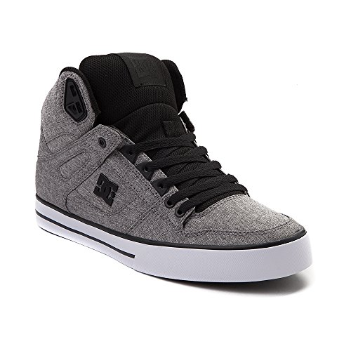 ラフ放射する映画(ディーシー) DC 靴?シューズ メンズスケートシューズ Mens DC Spartan Hi Skate Shoe Black/Gray ブラック/グレー US 11 (29cm)