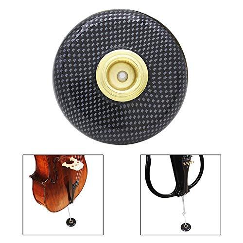 ZengBuks Kunststoff Cello End Pin Rutschfeste Rutschfeste Matte Pad Stop Bodenschutz Musikinstrument Zubeh/ör