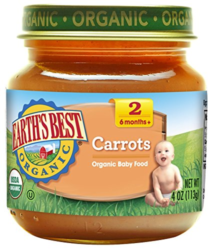 Earth S Best Organic Strained 4 Ounce Jars Pack Of 12