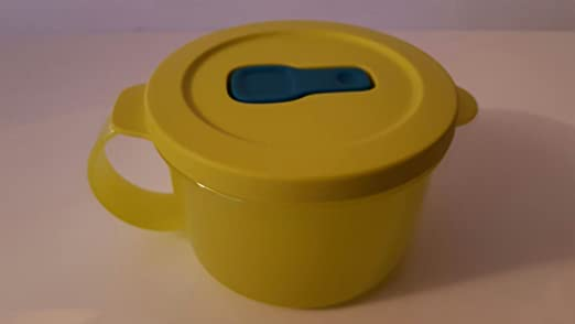 Tupperware Microondas de Fix 460 ml taza de Lime verde con tapa ...
