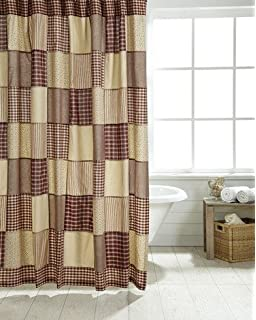 Cheston Patchwork Shower Curtain
