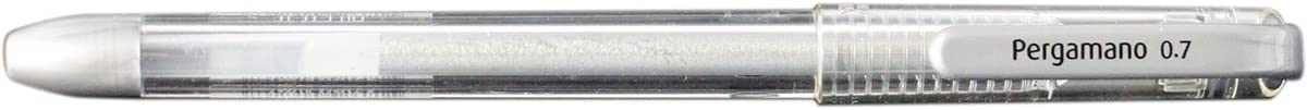 Penna gel color argento Pergamano 29252