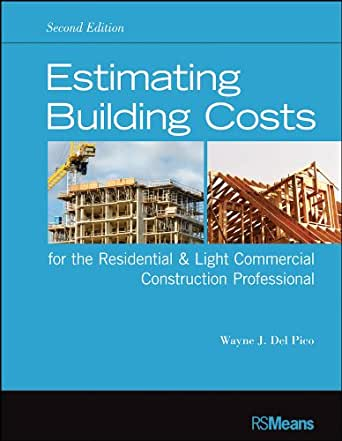 Estimating building costs for the residential and light for Estimate for house construction