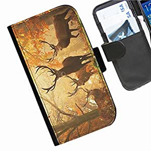 Hairyworm - Animals Nokia Lumia 1320 leather side flip wallet cell phone case, cover