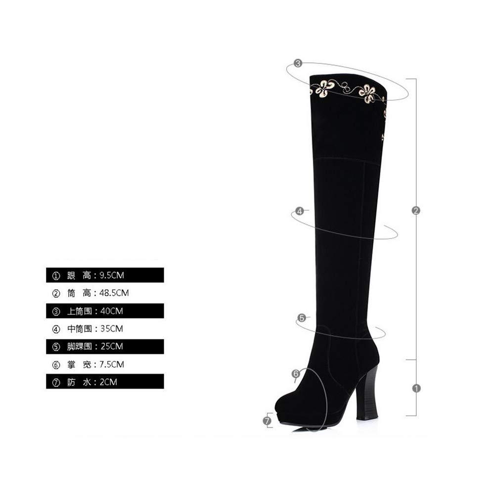 a6f705f5414e8 Amazon.com: YaXuan Women's Fashion Over The Knee Boots,Female ...