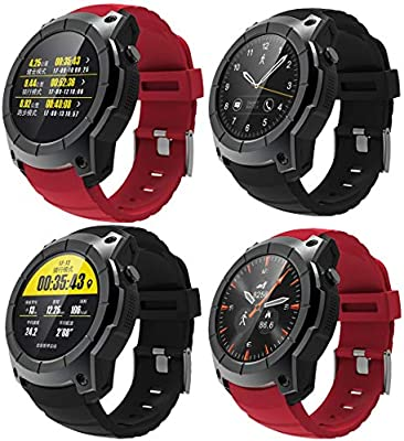 MRLIFY Smart Watch Bluetooth S985, WiFi GPS, CPU MTK6580, cámara de 1.39 Pulgadas 2.0MP, Android Wear, Compatible con iOS y Android