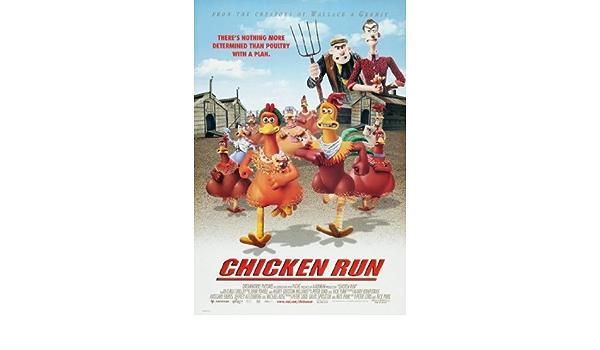 61cm x 91cm Chicken Run Movie Poster 24inx36in