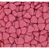 Boite 250 gr Minis Coeurs Dragées Chocolat - Couleur Fuschia - Mariage Baptème