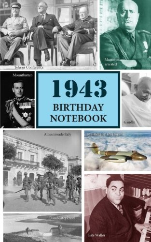 1943 Birthday Notebook: a great alternative to a card ebook