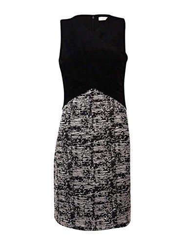 calvin klein abstract print maxi dress - 4