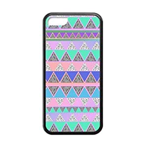 meilz aiaiAztec Colorful Pattern Bohemian Style Zigzag Design Custom Luxury Cover Case with Best Silicon Rubber for Iphone 5Cmeilz aiai