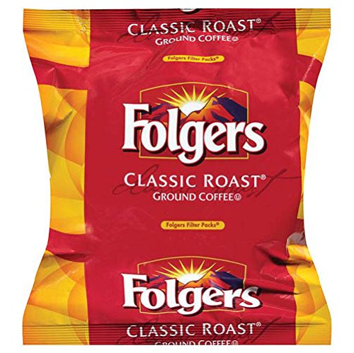 FOLGER'S Classic Roast Coffee Regular Filterpack, 0.9-Ounce Boxes (Pack of 160) (Folgers Coffee Filter Packs compare prices)