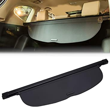 Retractable Cargo Cover Black Security Trunk Shade Fit for Honda CRV 2017-2019