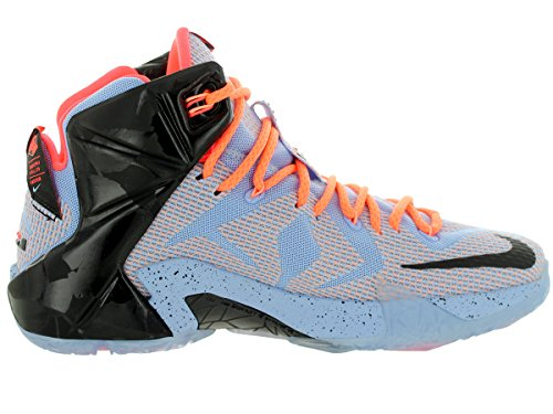 Nike - Lebron Xii - Color: Arancione-Azzuro-Nero - Size: 46.0