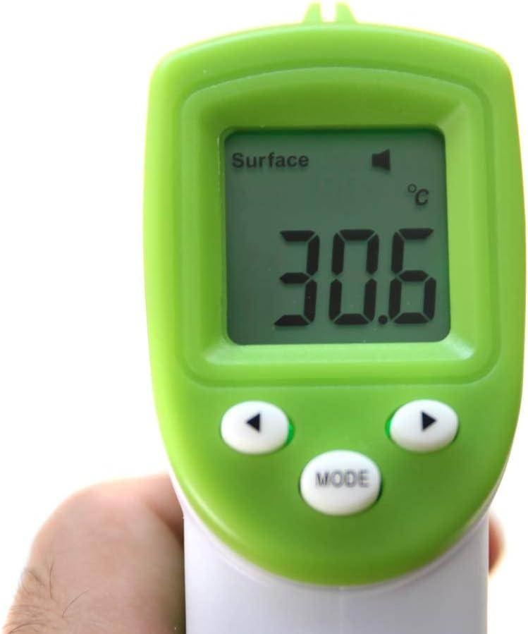 Sendgo Baby//Erwachsener Digital Thermometer Infrarot Stirn K/örper Ber/ührungslose Temperaturmesswerkzeug