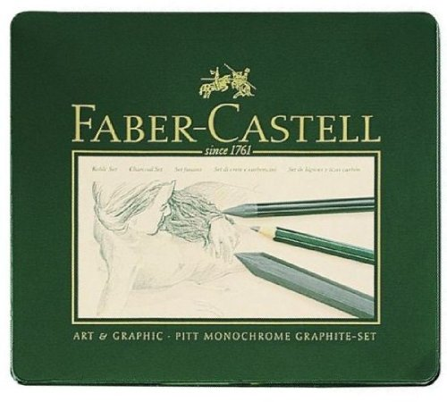 Faber-Castell Pitt 18 Piece Graphite Set by Faber-Castell Art & Graphic