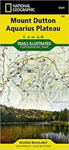 Download Mount Dutton, Aquarius Plateau (National Geographic Trails Illustrated Map) pdf epub