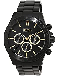 Hugo Boss 1513278 Black Ikon Mens Watch Features