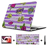 Mac Book Pro Case Create Fashion Art Fruit Watermelon Plastic Hard Shell Compatible Mac Air 11' Pro 13' 15' MacBook Cover 15 Inch Protection for MacBook 2016-2019 Version