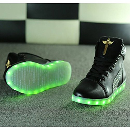 7 Present Led towel Colors High small Trainers Light Up Top JUNGLEST® S Black xTTtr