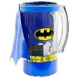 Batman - Glass Caped Beer Mug Blue