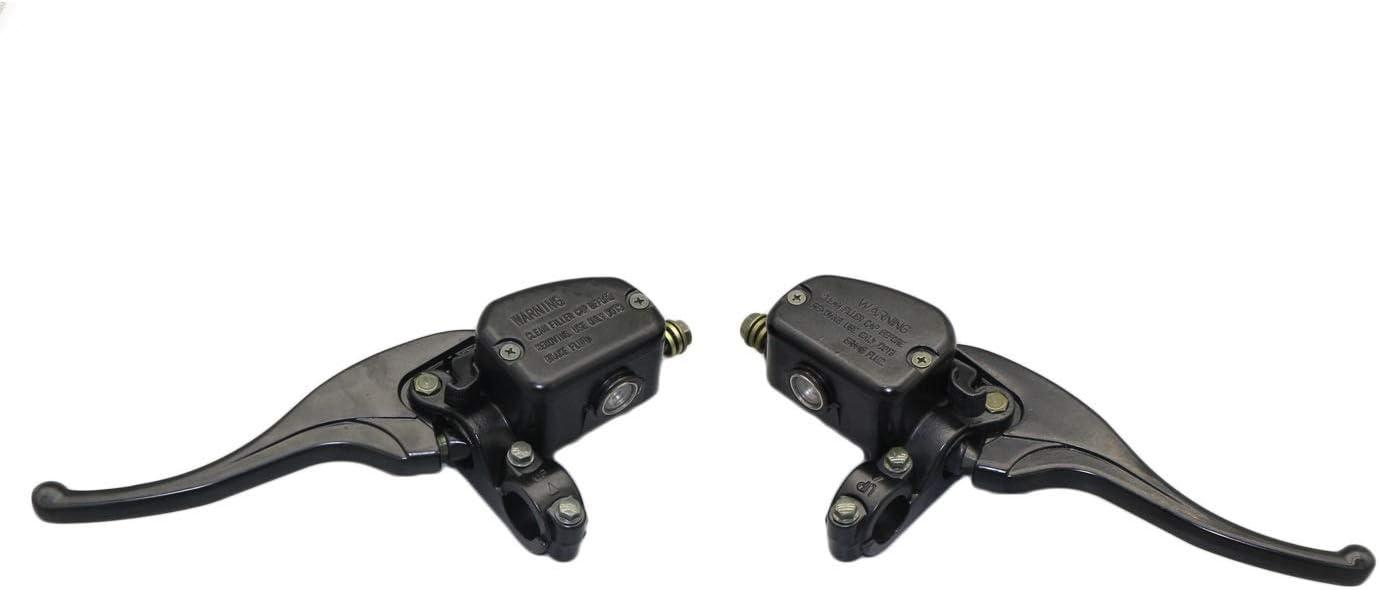 SHANGGUAN Bomba de freno Polaris 500CC para carros de motocross accesorios de bomba de freno modificados (Color : Black)