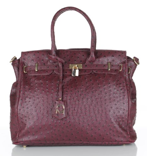 Noble Mount London Office Tote - Ostrich - Outlet London Designers