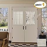 40 inch long door curtain panels - H.VERSAILTEX French Door Curtain 52