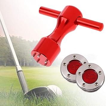 MASO - Juego de 2 llaves para palos de golf (acero ...